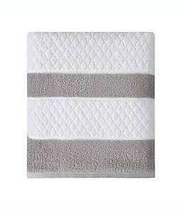 Toalla de medio baño Wamsutta® Hotel Border en gris