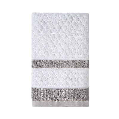 Wamsutta® Merill Hand Towel in Grey