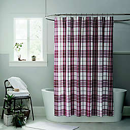 UGGR Bristol Shower Curtain In Redwood