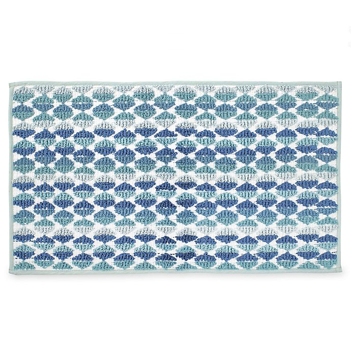 Daya 20 X 30 Bath Rug In Blue Bed