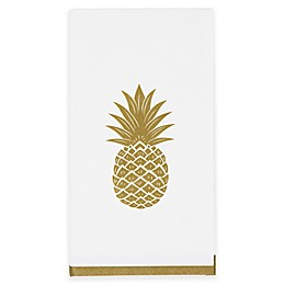 Gold Pineapple 32-Count Paper Guest Towels