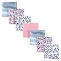 Hudson Baby® 7-Pack Floral Flannel Receiving Blankets