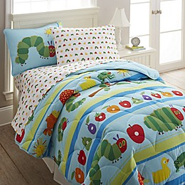 Wildkin The Very Hungry Caterpillar Comforter Set in Blue