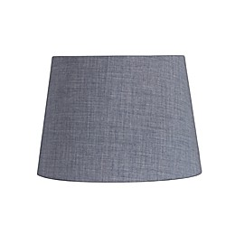 7 Inch Fabric Drum Lamp Shade in Blue