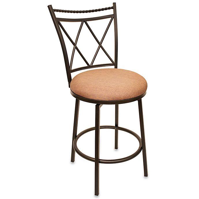 Swell Cheyenne Dunham 24 Inch Swivel Counter Stool Bed Bath Beyond Dailytribune Chair Design For Home Dailytribuneorg