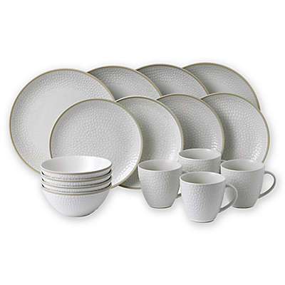 Gordon Ramsay by Royal Doulton® Maze Grill Dinnerware Collection in Hammered White