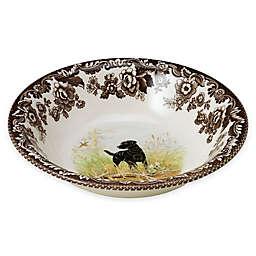 Spode® Woodland Ascot Black Labrador Retriever Cereal Bowl