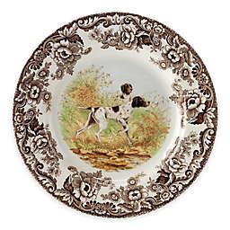 Spode® Woodland Flat Coated Pointer Dinner Plate
