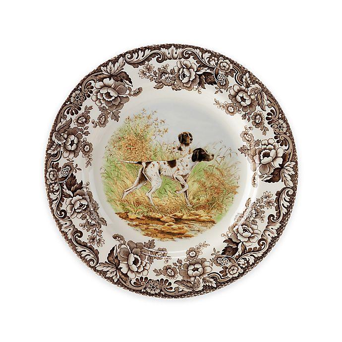 Alternate image 1 for Spode® Woodland Flat Coated Pointer Salad Plate