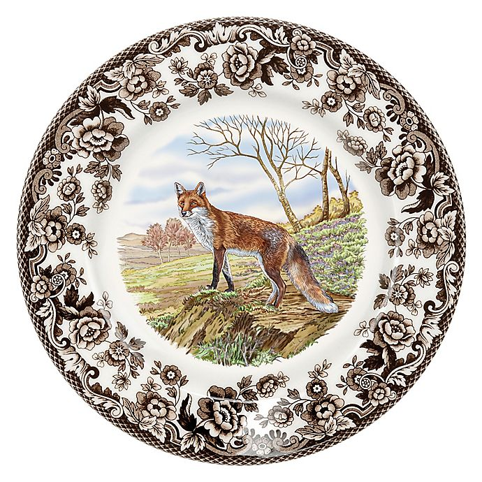 Alternate image 1 for Spode® Woodland Red Fox Salad Plate