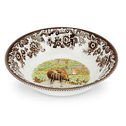 Spode® Woodland Ascot Moose Cereal Bowl