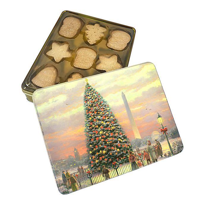 Thomas Kinkade Music & Light Holiday Cookies Tin