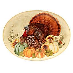 Certified International Autumn Fields© Susan Winget Oval Platter