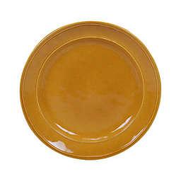 Certified International Orbit Salad Plates in Harvest Gold (Set of 6)