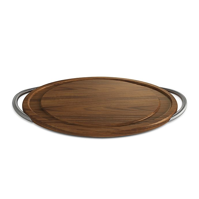 Alternate image 1 for Nambe Braid 24-Inch Carving Board