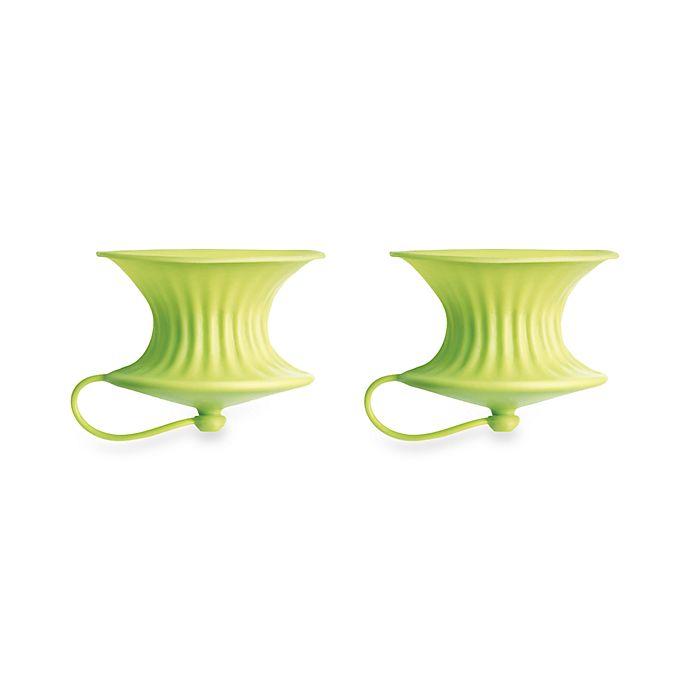 Alternate image 1 for Lékué Green Lemon Squeezers (Set of 2)