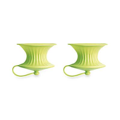 Lékué Green Lemon Squeezers (Set of 2)