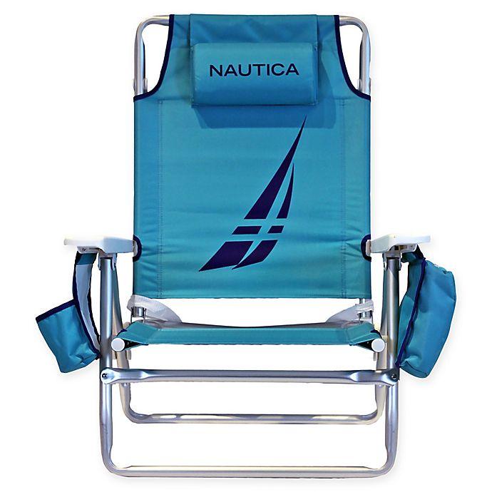 Bed Bath Beyond Beach Chairs.Nautica 5 Position Beach Chair