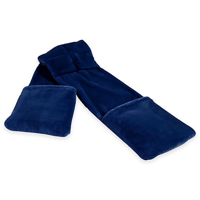 Alternate image 1 for Therapedic® Weighted Reader Wrap in Navy