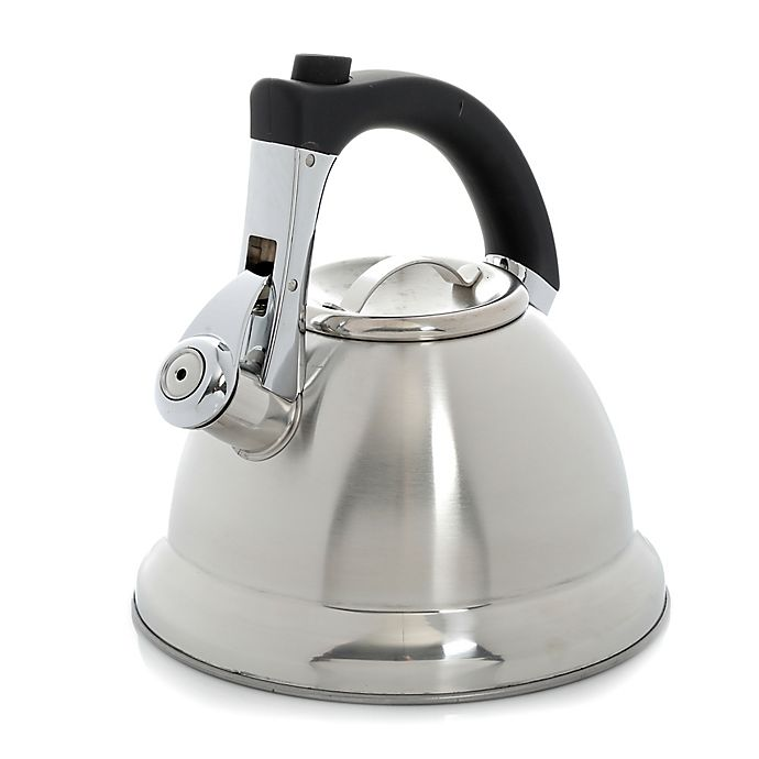 Alternate image 1 for Mr. Coffee® Collinsbrook 2.4-qt. Tea Kettle in Stainless Steel