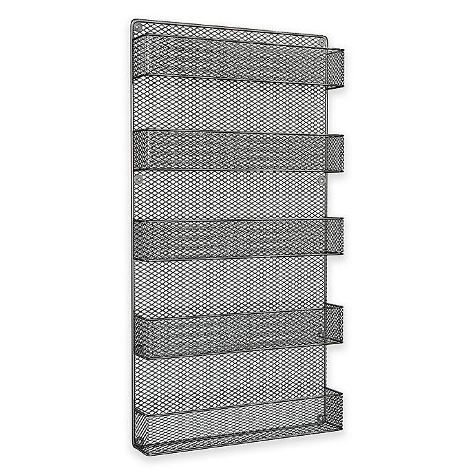 Alternate image 1 for 5-Tier Wire Spice Rack Organizer in Black