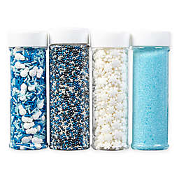 Wilton® 4-Pack Winter Holiday Sprinkles Set