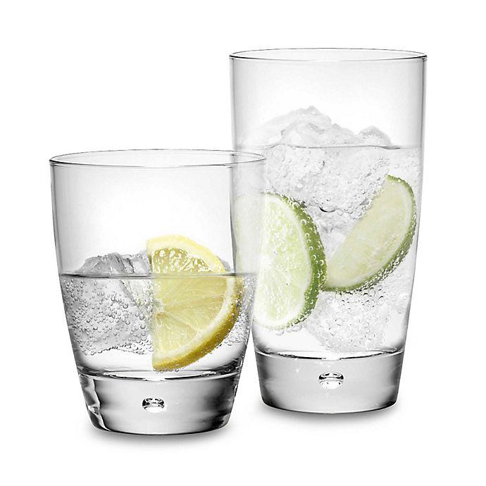 Alternate image 1 for Dailyware™ Luna 16-Piece Drinkware Set