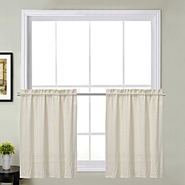 Sophia Kitchen Window Curtain Tier Pair