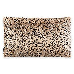 Safavieh Zuma Cheetah Throw Pillow in Brown