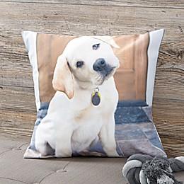 Personalized Pet Photo Memories Throw Pillow