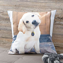 Personalized Pet Photo Memories Throw Pillow