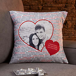 Personalized Love You This Much Throw Pillow