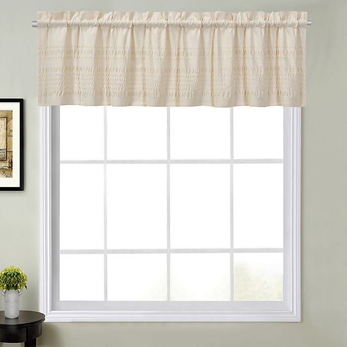 Alternate image 1 for Sophia Window Valance in Natural