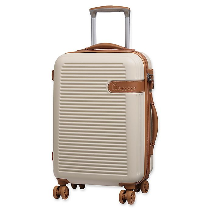 Alternate image 1 for it Luggage Valiant 22-Inch Hardside Spinner Carry On Luggage in Cream