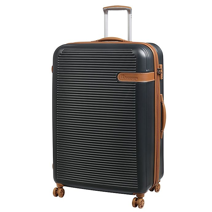 Alternate image 1 for it Luggage Valiant 32-Inch Hardside Spinner Checked Luggage in Black