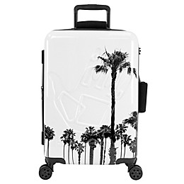 Body Glove® Redondo 22-Inch Hardside Spinner Carry On Luggage in White Palms