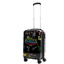 American Green Travel Las Vegas 20-Inch Hardside Spinner Carry On Luggage
