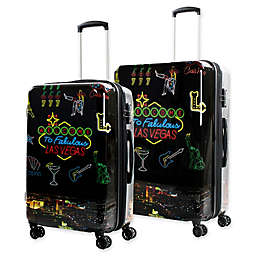 American Green Travel Las Vegas Hardside Spinner Checked Luggage