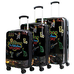 American Green Travel Las Vegas Hardside Spinner Luggage Collection