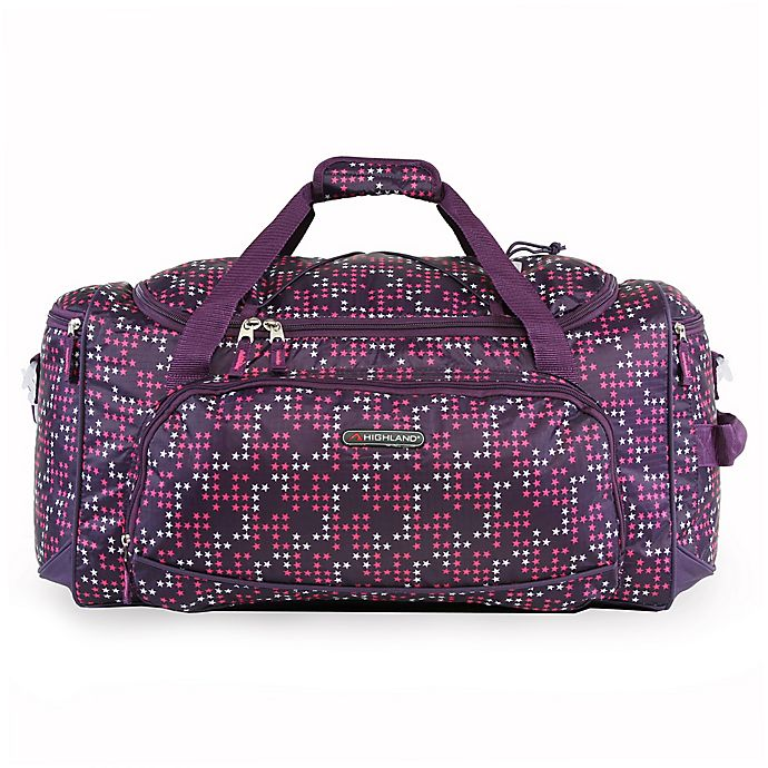 Alternate image 1 for Pacific Coast Highland 22-Inch Duffel Bag in Twinkle Star