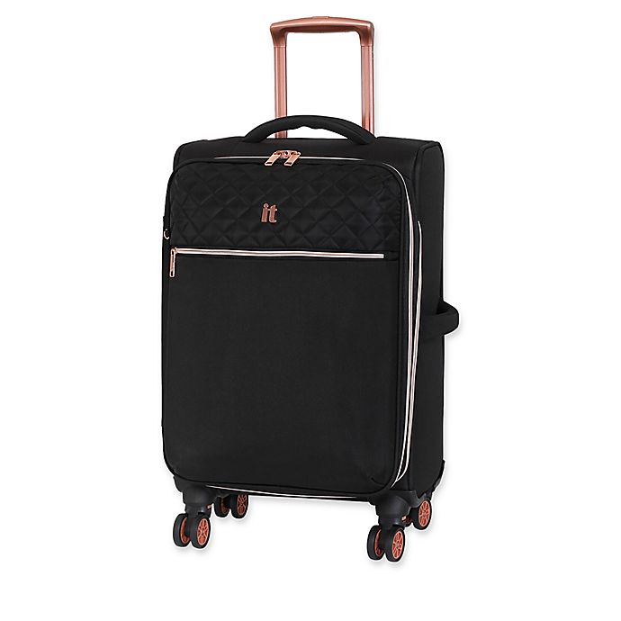 Alternate image 1 for it luggage Divinity 23-Inch Spinner Checked Luggage in Black