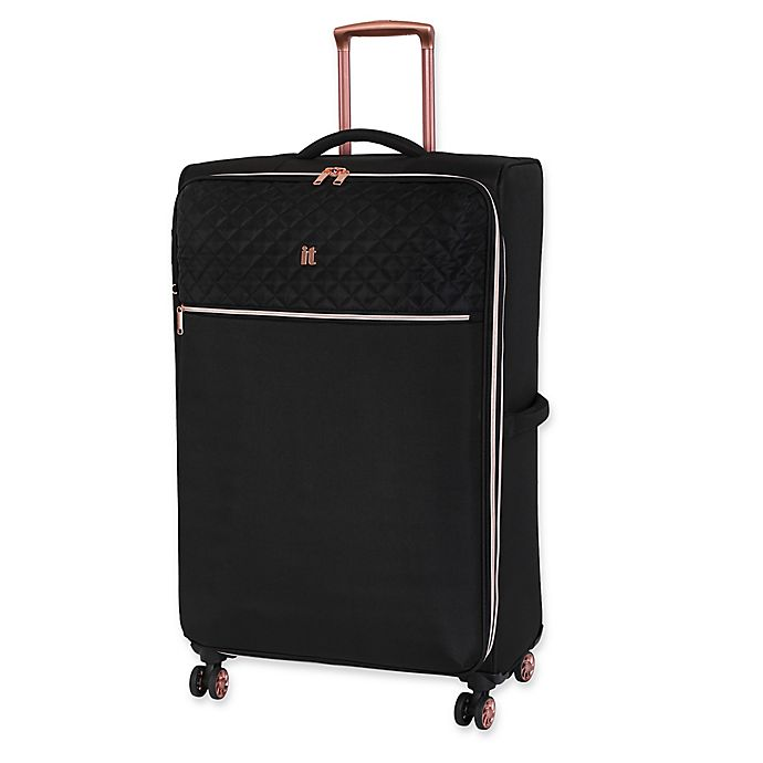 Alternate image 1 for it luggage Divinity 32-Inch Spinner Checked Luggage in Black