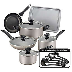 Farberware® Nonstick Aluminum 15-Piece Cookware Set