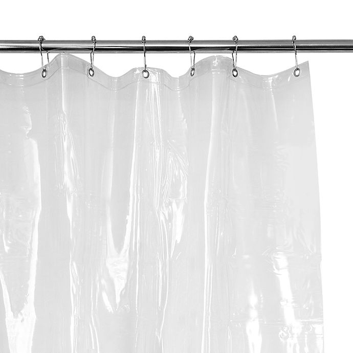 Heavy Weight Shower Curtain Liner In Clear