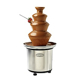 Nostalgia™ Electrics 3-Tier Stainless Chocolate Fondue Fountain