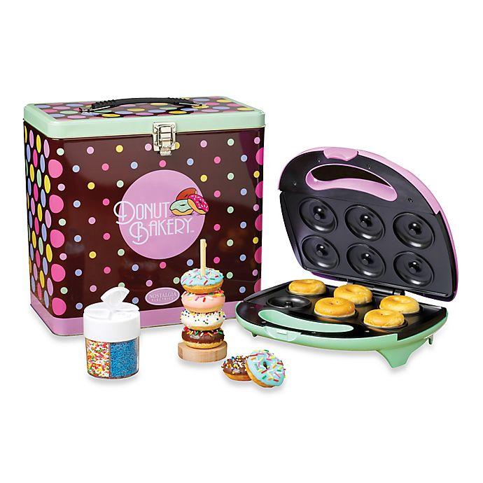 Alternate image 1 for Nostalgia Electrics™ Mini Donut Maker Kit