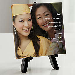 Personalized As You Leave Photo Sentiments Canvas Print