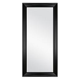 Black 31.5-Inch x 65.5-Inch Floor Mirror