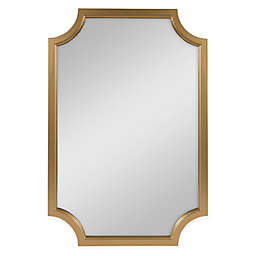 Kate and Laurel Hogan 24-Inch x 36-Inch Mirror in Gold