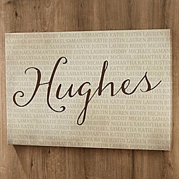 Personalized Together Forever Canvas